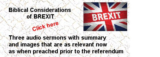 Biblical considerations on BREXIT
